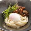 大江ノ郷製麺所 - 料理写真:【期間限定】みそ豚釜玉うどん