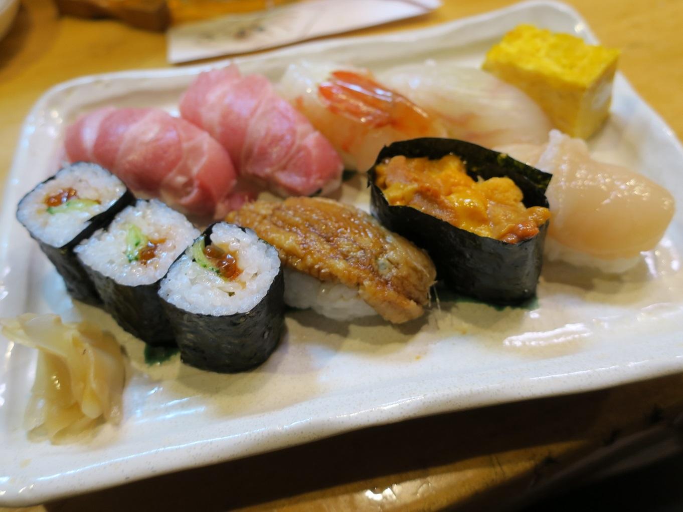 寿司うちだて