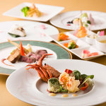 レストラン アンソレイユ - 【3月1日~4月15日】お箸でいただく洋コース「サンプリシテ」