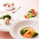 レストラン アンソレイユ - 【3月1日~4月15日】パスタ付ランチコース「ブランシェ」