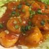 松戸香房 - 料理写真:海老チリ