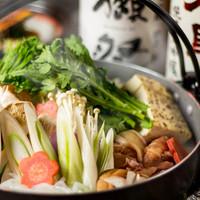 京赤地鶏の水炊き鍋