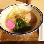 仙台うみの杜水族館フードコート - 料理写真:サバだし塩らーめん