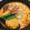 麺屋 辛じろう - 料理写真:白胡麻坦々麺¥900 麺大盛、小ライス、肉味噌、もやしのトッピングが付けられます。