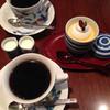 あおい珈琲店 - 料理写真:あおいブレンド&カスタード プディング