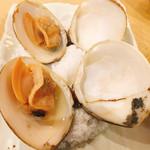 貝料理 吟 - はまぐりの塩焼き1 P  ¥580