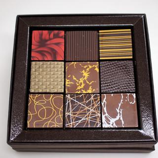 レ・カカオ - 料理写真:ボンボン・ショコラ  9個入り 2,950円