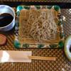 醍醐 - 料理写真:並蕎麦と小鉢