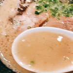 一燈灯 - 濃厚スープ