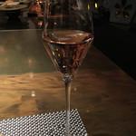 鉄板焼 心 - スパークリングワインで乾杯