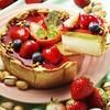 焼きたてチーズタルト専門店PABLO - 料理写真:3月「いちごとピスタチオのチーズタルト」※数量限定