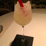 ホテル ラ・スイート神戸ハーバーランド - オリジナルカクテルを頂きました。