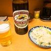 銀座屋 - 料理写真:ビール & ポテトサラダ