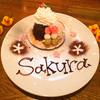 カフェ パンプルムゥス - 料理写真:3月4日~31日限定★さくらパンケーキ