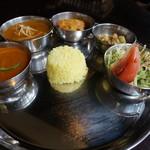 テイスト オブ インディア フュウ - 料理写真:本日のランチ