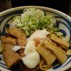 つけめん 豆天狗 - 料理写真:油そば750円(ネギトッピング100円)