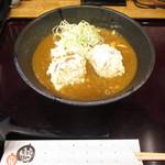 七弐八製麺 - 角煮天カレーうどん