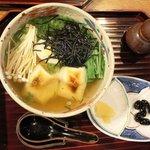 千寿亭 - 雑煮にゅうめん 1,050円