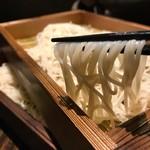 蕎麦酒肴 百景 - 板そば2枚盛り1050円