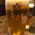 蕎麦酒肴 百景 - 生ビール