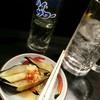 Kidofuji - 料理写真:初手。チューハイとナス生姜。