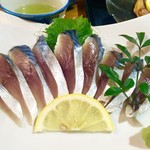 福浦漁港 みなと食堂 - しめ鯖刺身