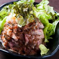 リーズナブルな価格でボリューム満点! 『ローストビーフ丼』