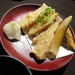 まるはん - 筍の天ぷら