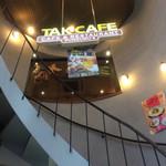 TAK CAFE - 階段上がってお店