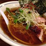 欽山製麺所 - 中華そば(650円)