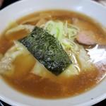 寺カフェ 中華そば水加美 - <参考>ワンタンメン(昔ながら・細麺)