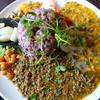 虹の仏 - 料理写真:スパイスカレー 出汁キーマ