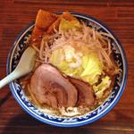 麺や 樽座 - 【限定】「樽ジロー」800円