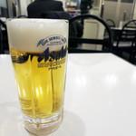 ブルーコーナー - 生ビール 500円