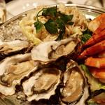 ウルフギャング・ステーキハウス - 牡蠣