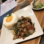 Thai Food Lounge DEE  - 日替わりスペシャル(ガパオライス)