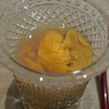 三谷 - 料理写真:松前産の馬糞雲丹 九十九里産のハマグリの出汁で 2002 Salon Cuvee 'S' Le Mesnil Blanc de Blancs, Champagne を合わせて