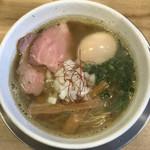 麺屋 日出次 - 「煮干味玉そば」(950円)