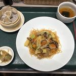 横濱崎陽軒シウマイBAR - 五目あんかけ麺