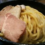 63404306 - 極濃煮干しつけ麺(中盛り)300g