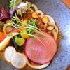 侍.うどん - 料理写真:一期一会の「侍.カレーうどん」 +野菜増し