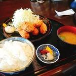 地魚料理 信 - カキフライ定食 1,200円