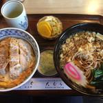 大むら - 料理写真:♪かつ丼セット(温かい蕎麦)¥850