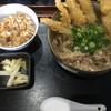 うどん・そば 大隈 - 料理写真:牛肉ゴボ天定食 880円