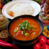 パンチマハル - 鶏挽き肉たっぷりのさらさらキーマカレー