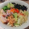 アジトイズム - 料理写真:ajitoのまぜそば(800円)+〆のリゾット(200円)