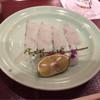 鮨 けん - 料理写真:ヒラメのお刺身 お塩で