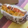 ファイブスターサンドイッチ - 料理写真:カボチャ&キャロットのサンド 500円