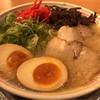 二代目 博多 だるま - 料理写真:博多ラーメン煮玉子入り 850円。