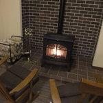 6345587 - フロント前の暖炉